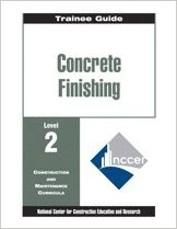 Concrete Finishing Level Two 1999