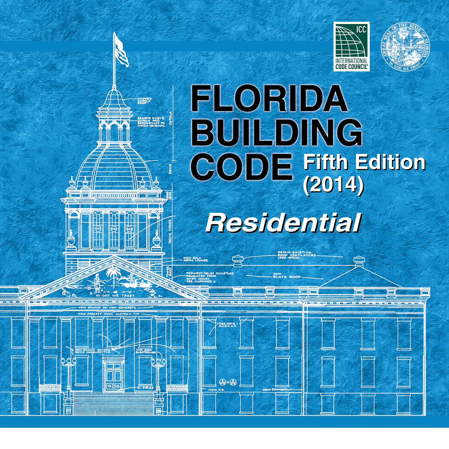 Florida Building Code 5th edition - Residential , 2014. International Code Council