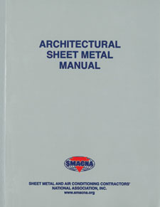SMACNA Architectural Sheet Metal Manual, 7th Edition, January 2012. Sheet Metal & Air Conditioning Contractors National Assoc., Inc., (SMACNA),