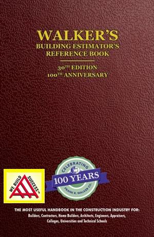Walker's Building Estimator's Reference Book, 30th Edition, 2014